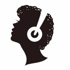 音楽 シルエット イラストの無料ダウンロードサイト シルエットac